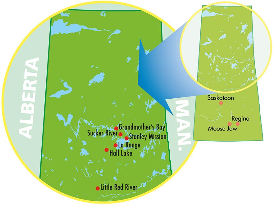 Communities Map
